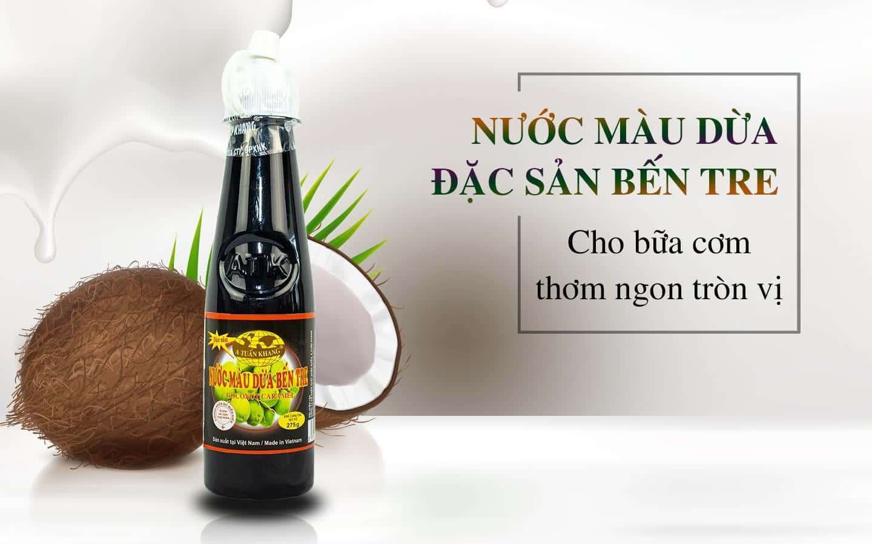 Sản Phẩm Nước Màu Dừa Đặc Sản Bến Tre