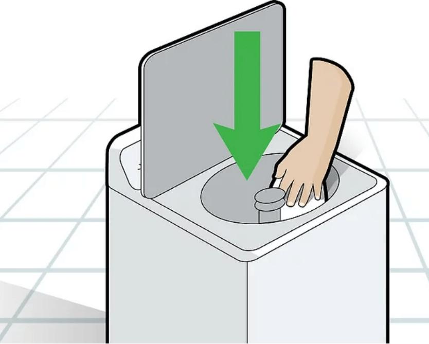 làm sạch máy giặt với giấm
