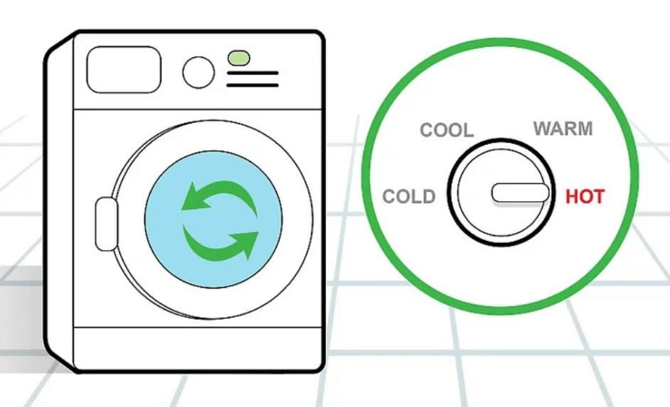 vệ sinh máy giặt với giấm