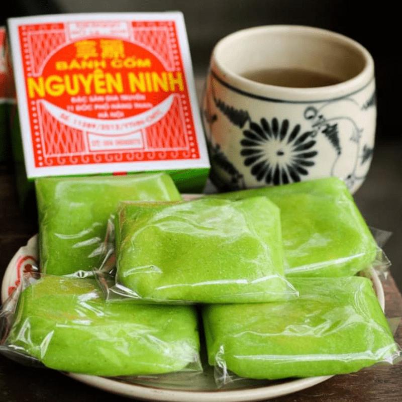 Bánh cốm Hà Nội