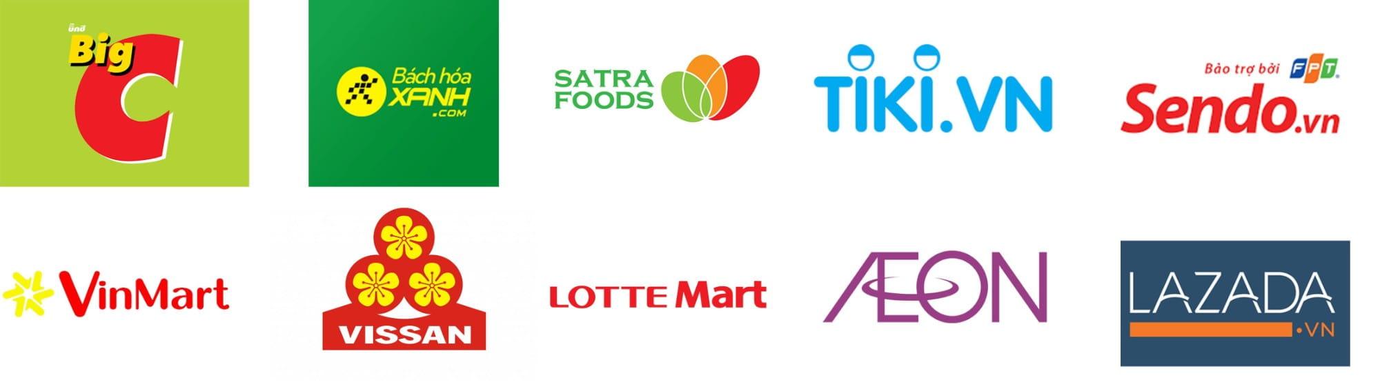 Đối tác hệ thống kênh siêu thị