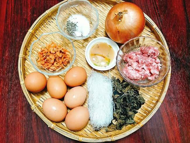 Cách làm trứng hấp thịt
