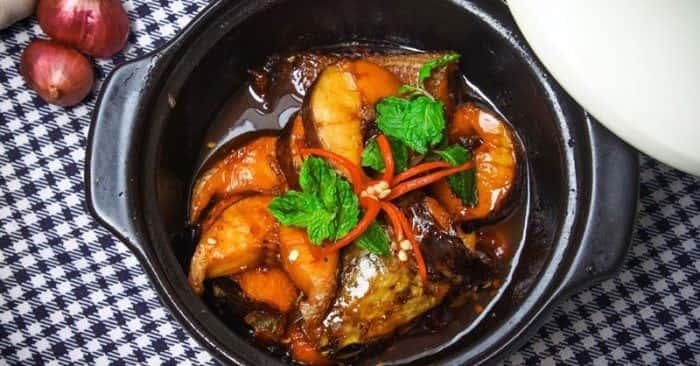 cá chuối kho tộ - A TUẤN KHANG