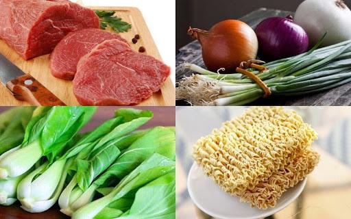 cách làm món mì xào thịt bò
