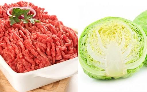 cách làm bắp cải cuốn thịt