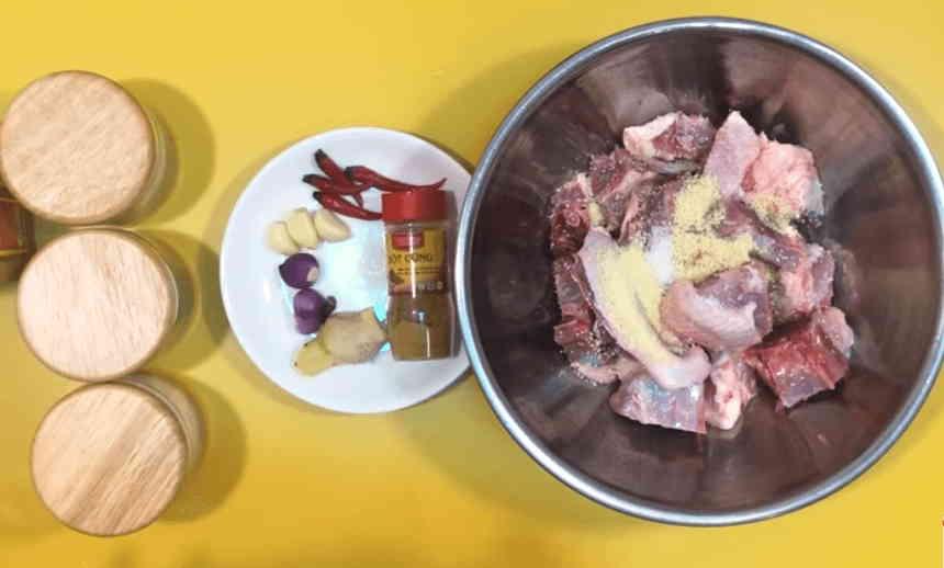 cách nấu món thịt vịt kho gừng