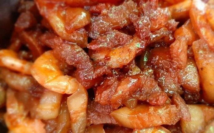 cách làm tôm rim thịt - A TUẤN KHANG