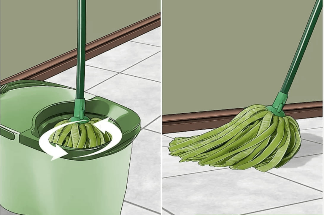 cách làm nhà sạch bằng giấm