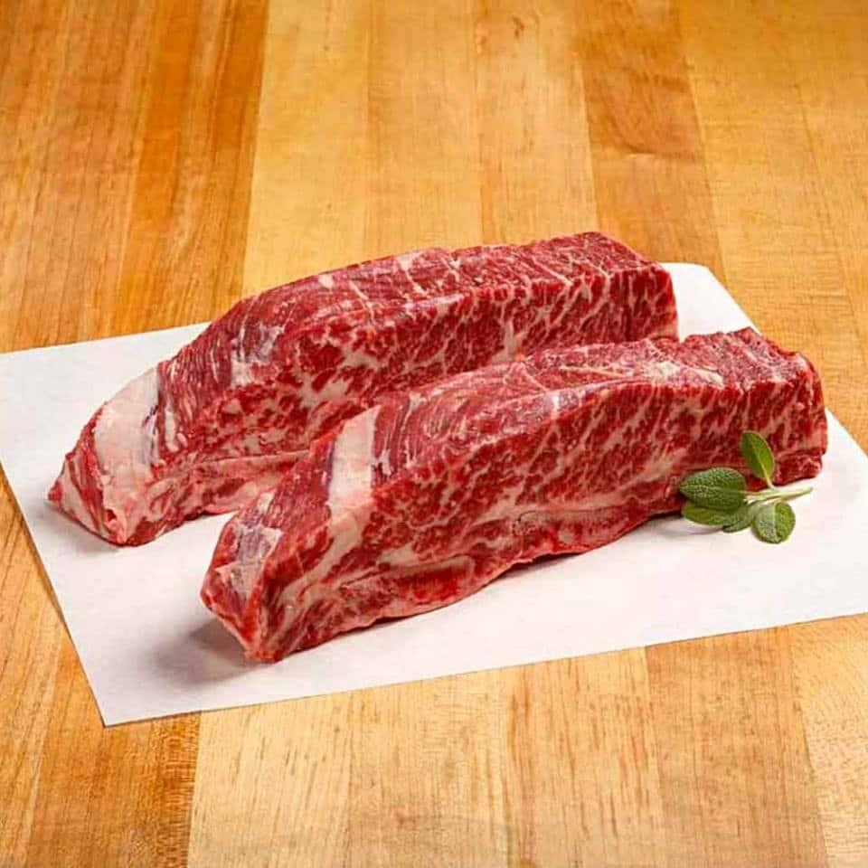 chế biến sườn bò nướng