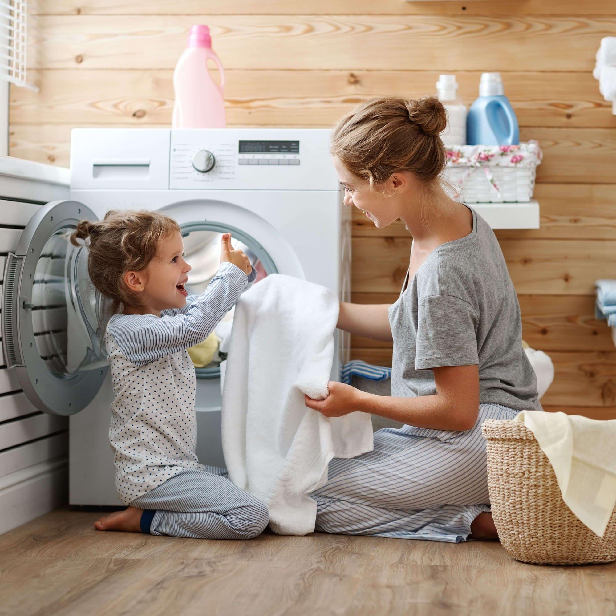 công dụng của giấm trong giặt đồ