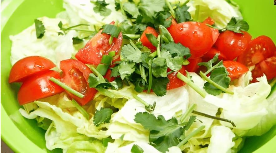 làm rau ăn kèm gà ram