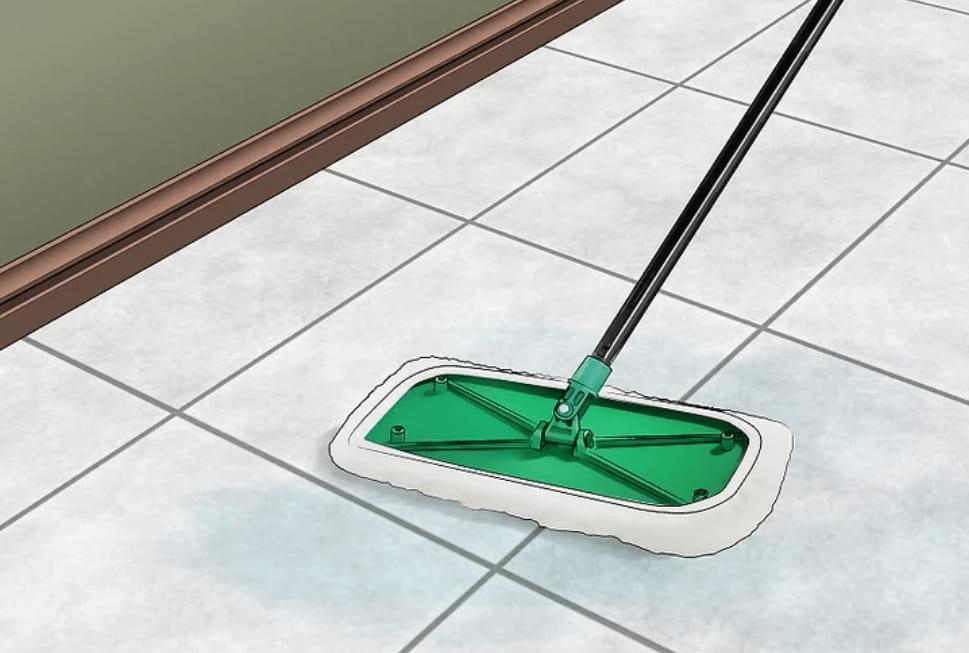 mẹo vệ sinh sàn nhà với giấm
