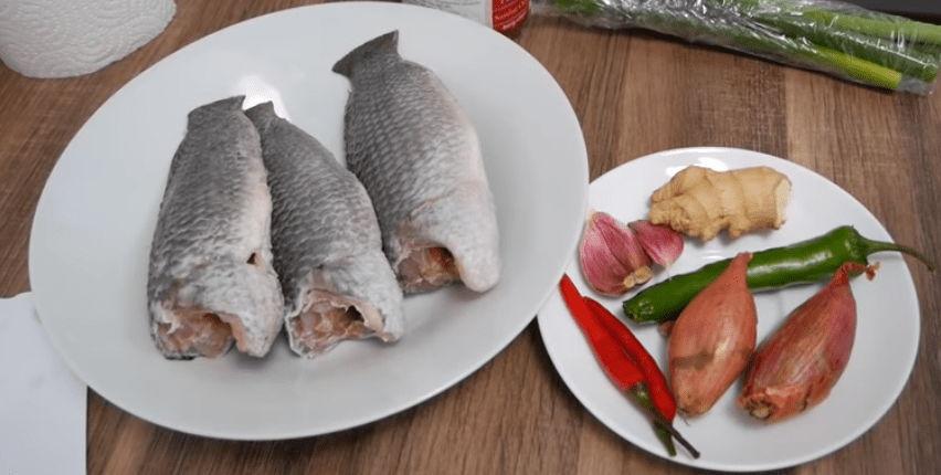 Nguyên liệu làm món cá rô kho tộ