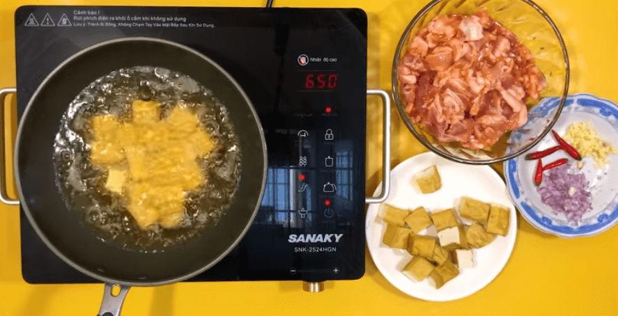 cách nấu thịt kho đậu hủ