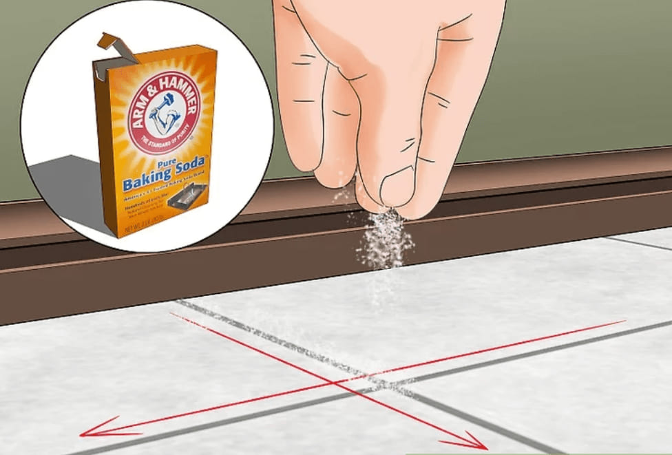 vệ sinh sàn với baking soda