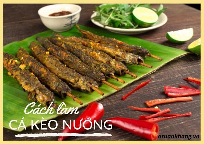 cá kèo nướng muối ớt - A TUẤN KHANG