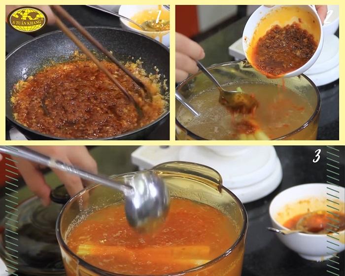 cách làm bò nấu sa tế - A TUẤN KHANG