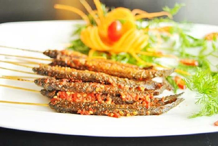 cách làm cá kèo nướng sa tế - A TUẤN KHANG