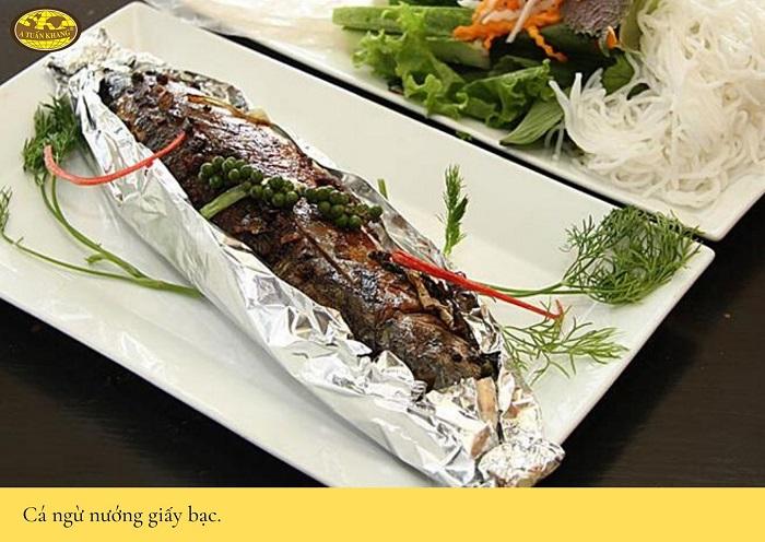 cách làm cá nướng cuốn bánh tráng - A TUẤN KHANG