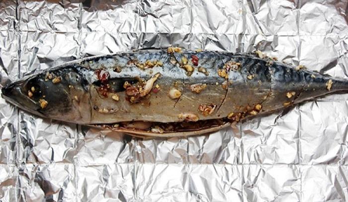 cách làm cá nướng giấy bạc - A TUẤN KHANG