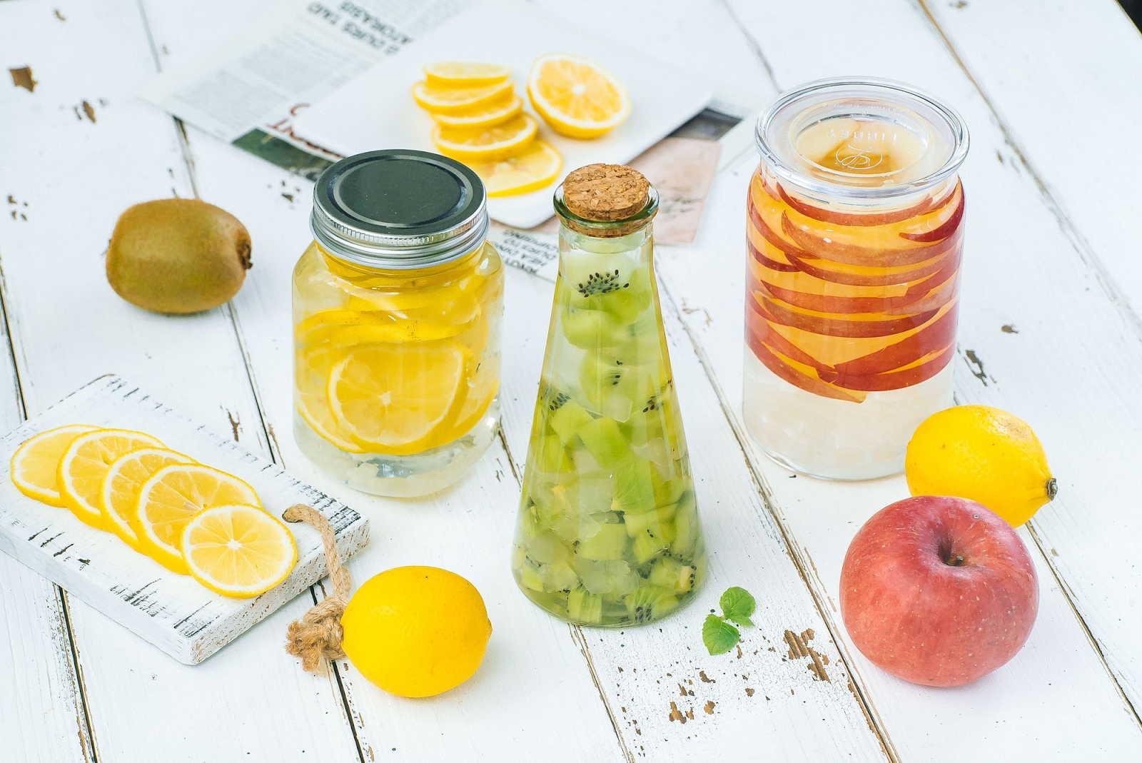 cách làm giấm hoa quả