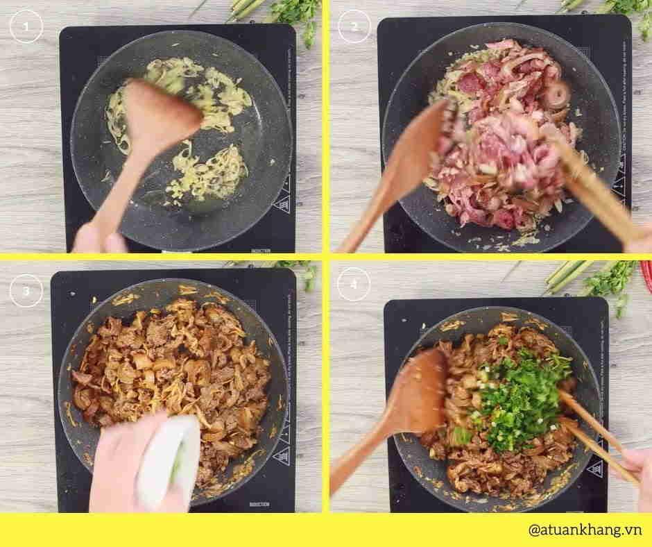 thịt dê xào sa tế