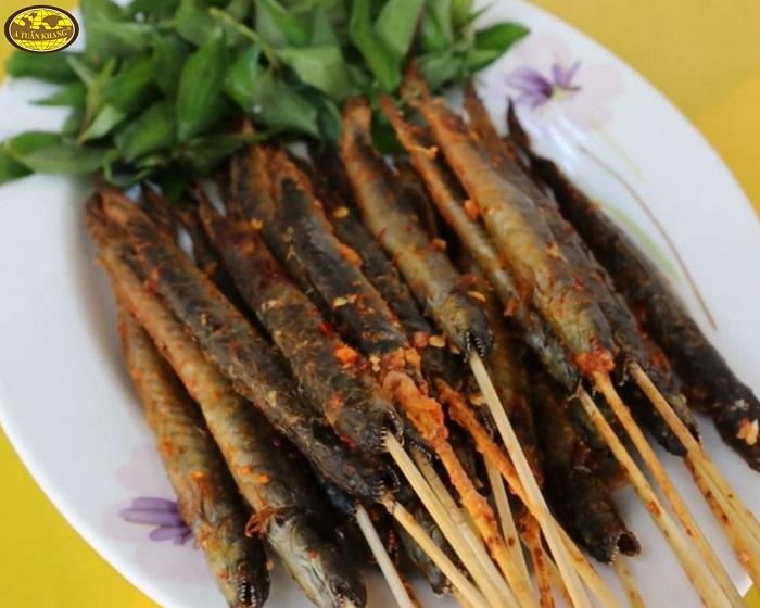 cách làm món cá kèo nướng muối ớt - A TUẤN KHANG