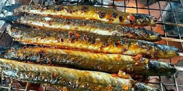 cách làm món cá kèo nướng sa tế - A TUẤN KHANG