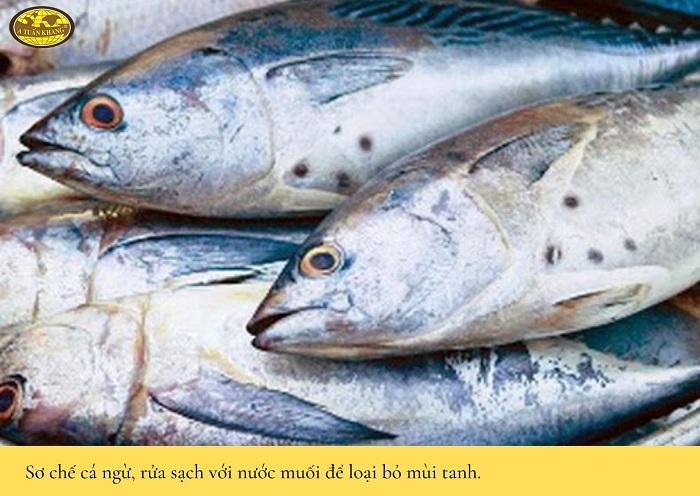 cách làm món cá ngừ nướng sa tế - A TUẤN KHANG