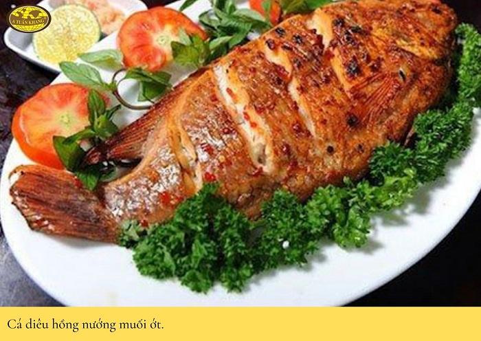 cách làm món cá nướng - A TUẤN KHANG