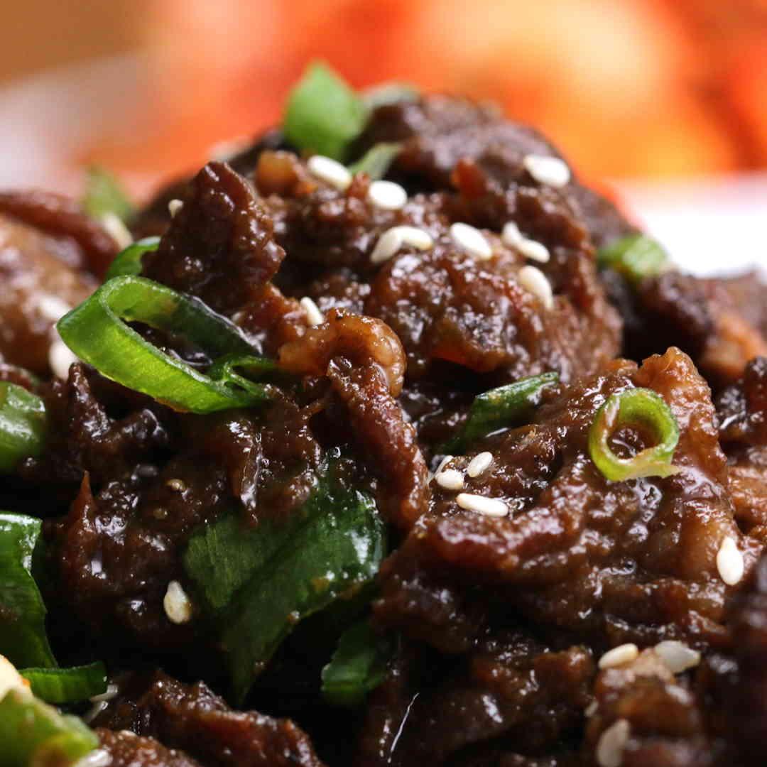sốt bbq ướp với thịt bò