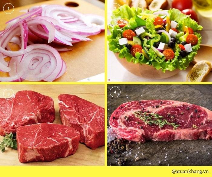 cách làm thịt bò bít tết ngon - A TUẤN KHANG