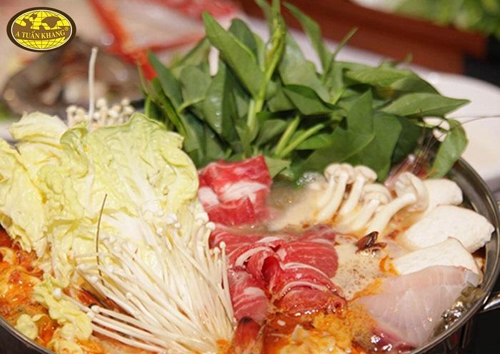 cách nấu lẩu bò sa tế - A TUẤN KHANG