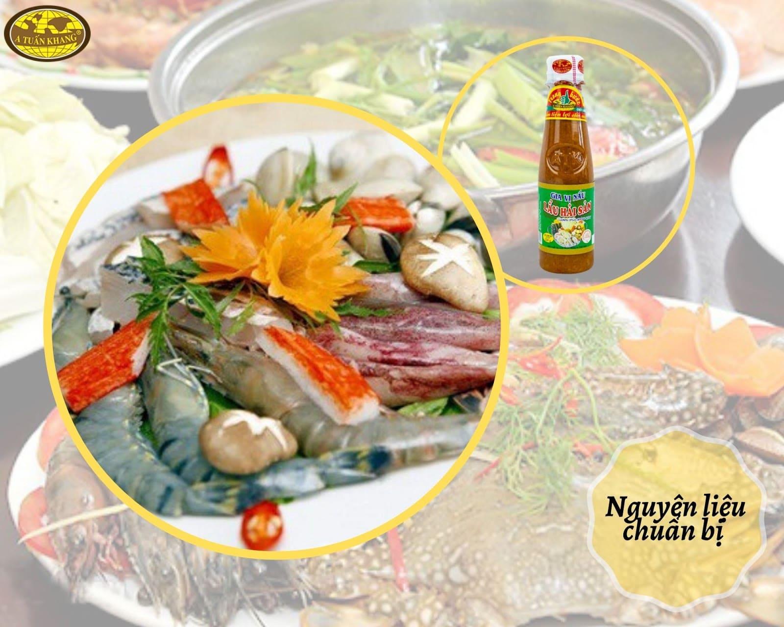 cách nấu lẩu hải sản thập cẩm ngon