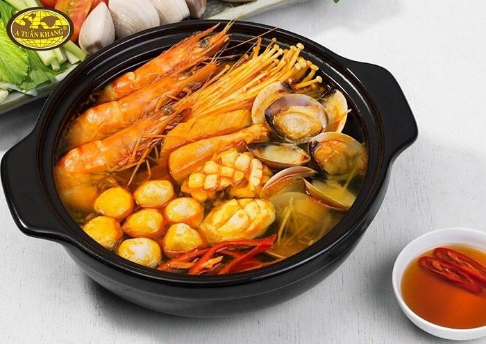 công thức nấu lẩu thái chua cay - A TUẤN KHANG