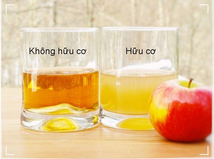 giá 1 chai dấm táo - A TUẤN KHANG