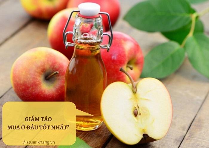 giấm táo mua ở đâu - A TUẤN KHANG