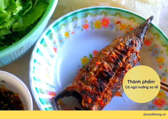 làm cá ngừ nướng sa tế - A TUẤN KHANG