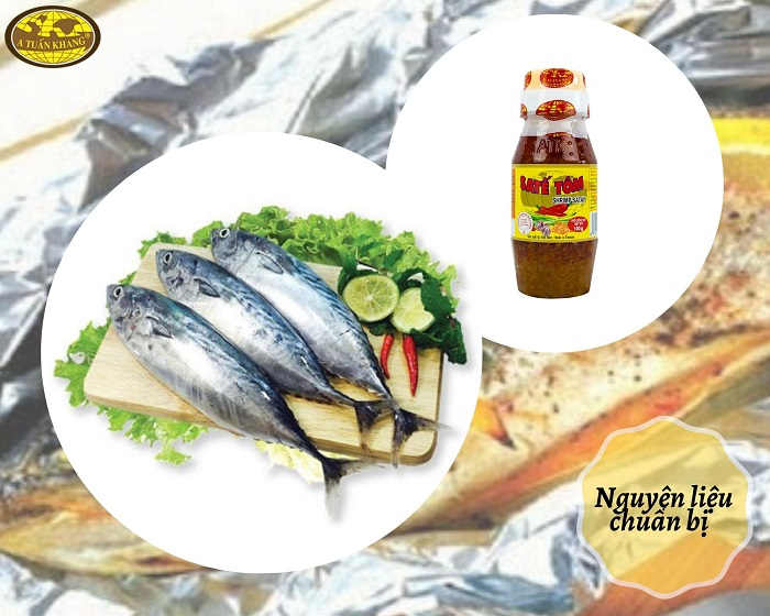 nguyên liệu cá ngừ nướng sa tế - A TUẤN KHANG