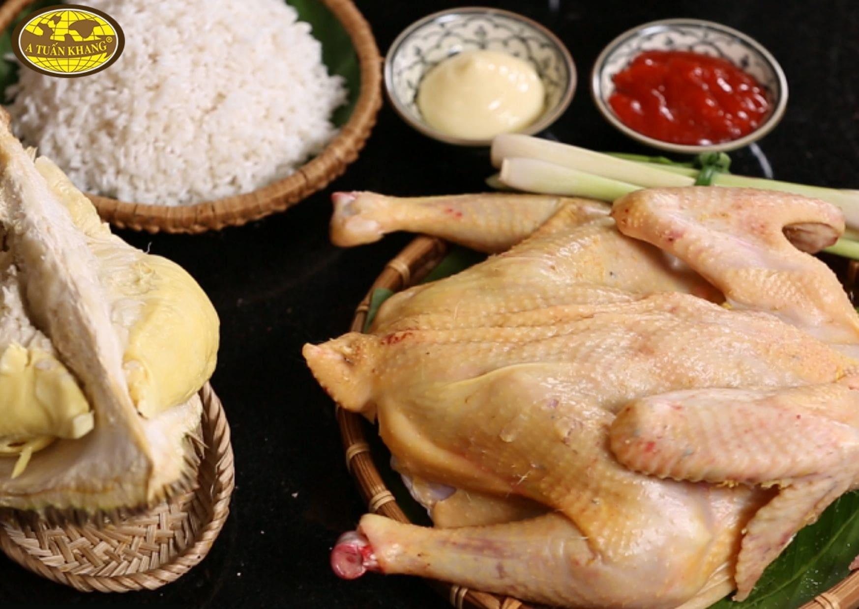 nguyên liệu ướp gia vị gà nướng - A TUẤN KHANG