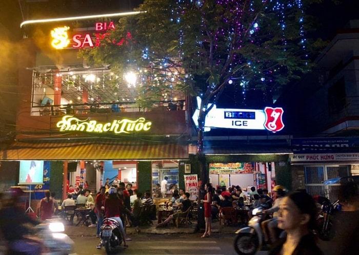 quán bạch tuộc nướng sa tế - A TUẤN KHANG
