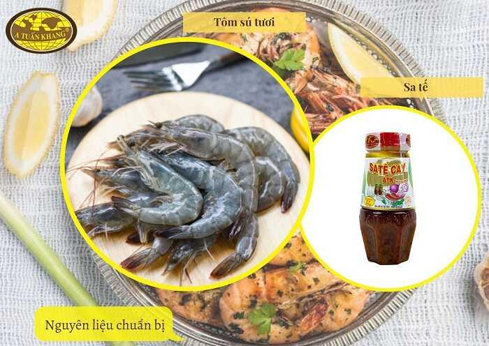 ướp hải sản nướng - A TUẤN KHANG