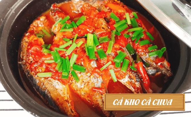 Hấp dẫn với món cá kho cà chua