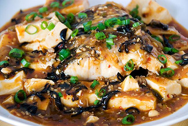 Món cá kho đậu