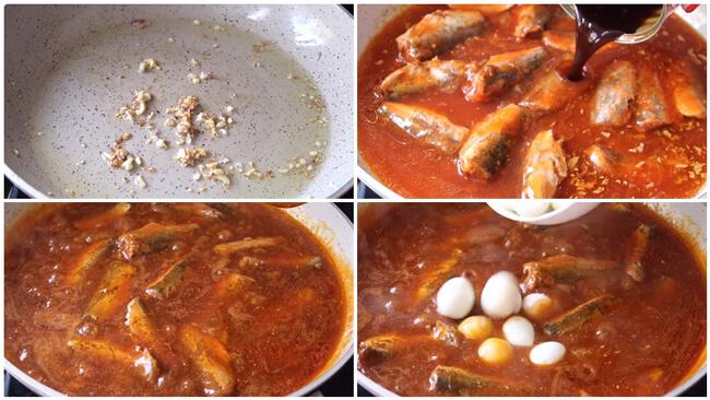 Các bước nấu cá kho trứng cút