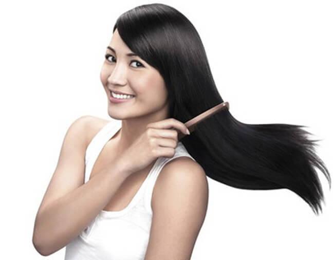 Giấm tốt cho tóc