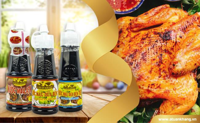 Sản phẩm nước màu dừa chất lượng, giá sỉ A Tuấn Khang