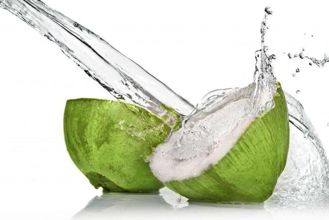 Nguyên liệu 100% nước dừa tươi
