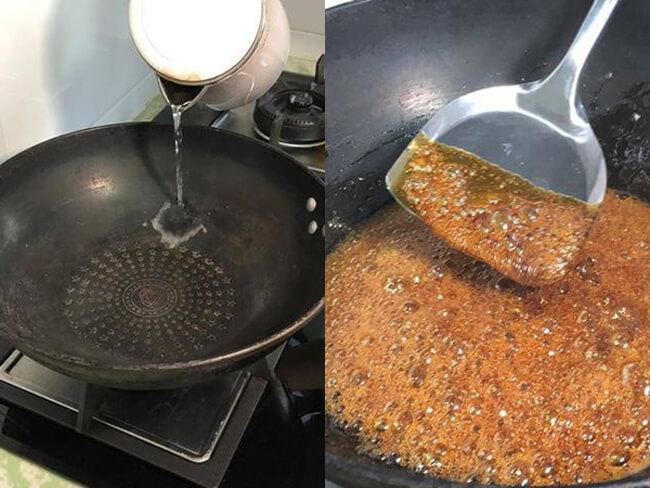 Cách chế biến nước màu dừa