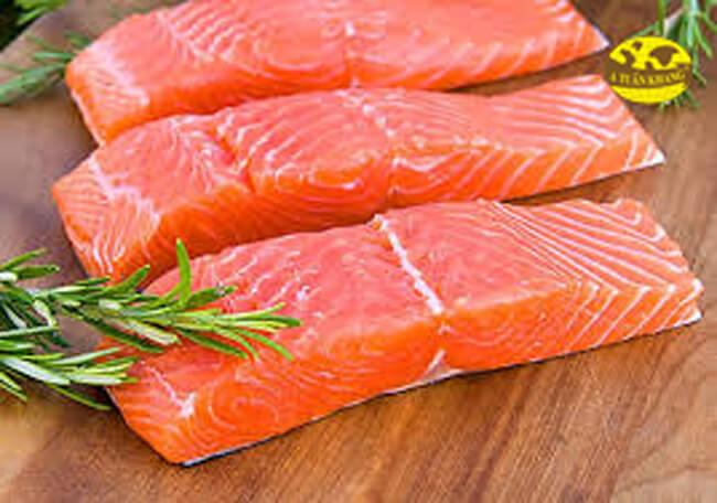 Nguyên liệu cá hồi